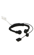 CR Headset with Assault Tactical Throat Mic (Black)