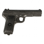 Diecast Tokarev TT-33 Pistol (Grey)
