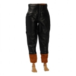 Leather Soviet Tank Crewman Pants (Black)