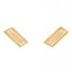 Afrika Korps Collar Tabs (Sand)