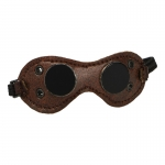 Leather Anti Dust Goggles (Brown)