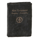 New Testament Psalms Proverbs Holy Bible (Black)