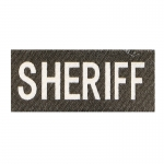 Sheriff Patch (Black)