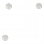 Buttons Set (White)