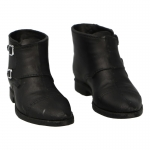 Camberley Double Monk Shoes (Black)