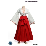 Female Traditional Japanese Suit Set (Red)