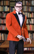 Royal Spy Suit Set (Orange)