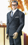 Royal Spy Suit Set (Grey)