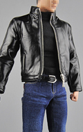 Spy's Leather Clothing Suit Set (Black)