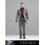 Set costume de Business Man (Gris)