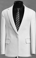 Kobe Commemorative Casual Suit Set (White)