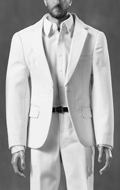 Set costume Leisure Gentleman (Blanc)