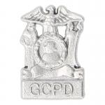 Insigne Gotham City Police Department en métal (Argent)