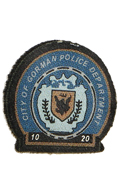 Patch Gotham City Police Department (Bleu)