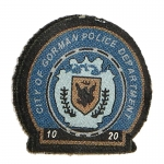 Patch Gotham City Police Department (Bleu)