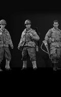 Pack Rescue Team - Rescue Squad Captain, Sniper & Paratrooper