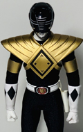 The Classic Mighty Superhero - Golden Black Hero