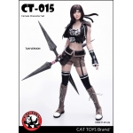 Set Fantasy Shuriken Girl Femme (Coyote)