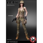Female Military Suit Set (Multicam)