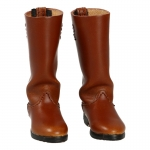 Leather Marching Boots (Brown)