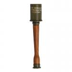 Worn Diecast M17 Stick Grenade (Olive Drab)