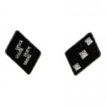 Untersturmfuhrer Collar Tabs (Black)