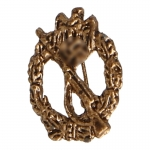 Diecast Infantry Assault Badge (Bronze)