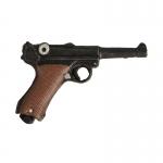 P08 Lüger Pistol (Black)
