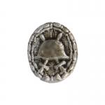 Insigne Des Blessés en métal (Argent)