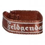 Feldgendarme Cuff Title (Bronze)