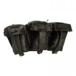 Cartouchières Kar98 en cuir usées (Noir)