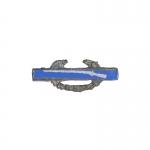 Insigne Combat d'Infanterie en métal (Bleu)