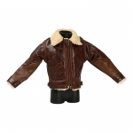 Leather B3 USAAF Flying Jacket (Brown)