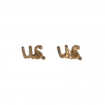 Diecast US Insignias (Gold)