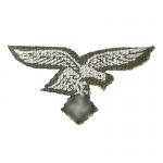 Luftwaffe Chest Eagle (White)
