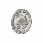 Diecast Wounded Badge (Silver)