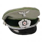 Jäger Officer Cap (Feldgrau)