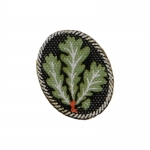 Edelweiss Jäger Badge (Green)
