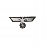 Wehrmacht Chest Eagle (White)
