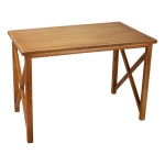 Table de campagne en bois (Marron)