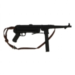 Diecast MP40 Submachinegun (Black)