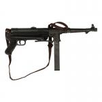 Pistolet mitrailleur MP38 en métal (Noir)