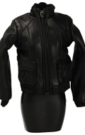 Female Leather Jacket (Black)