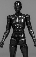 Funman Series - Corps homme Obsidianman (Noir)