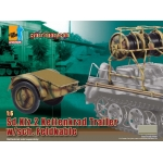 Sd.Kfz.2 Kettenkrad Trailer w/sch. Feldkable (Camouflage 3 tons)
