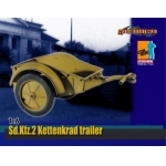 Sd.Kfz.2 Kettenkrad Trailer (Sable)
