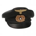 Kriegsmarine Schirmütze Cap (Black)
