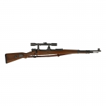 Mauser 98K Rifle with ZF-39 Scope (Brown)
