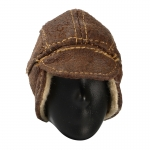B2 Shearling Flyer Cap (Brown)