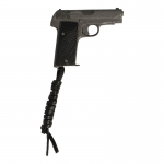 7.65mm Ruby Pistol with Leather Holster (Black)